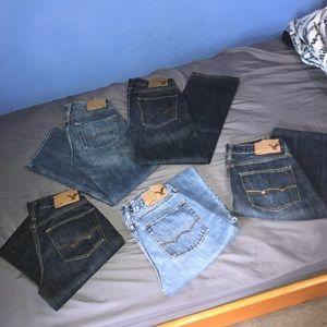 Bundle of American Eagle jeans